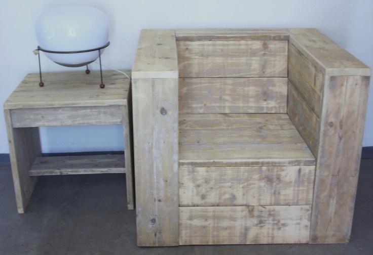 chaise de jardin en palettes pallet pinterest