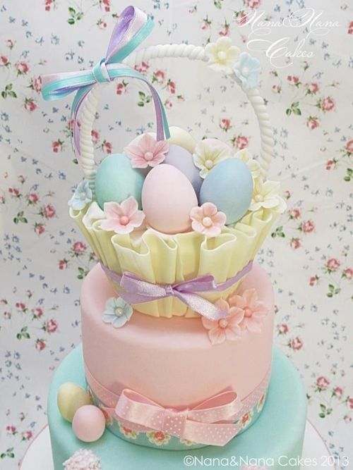 beautiful easter cake easter and spring pinterest