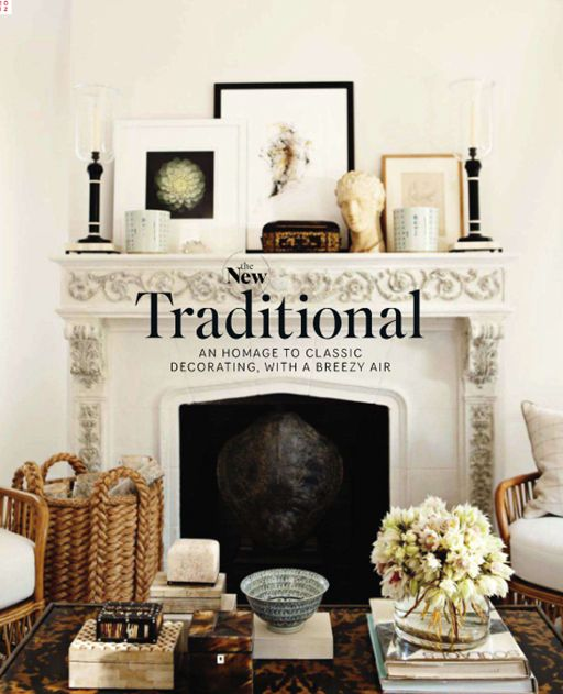 staggered mantle styling