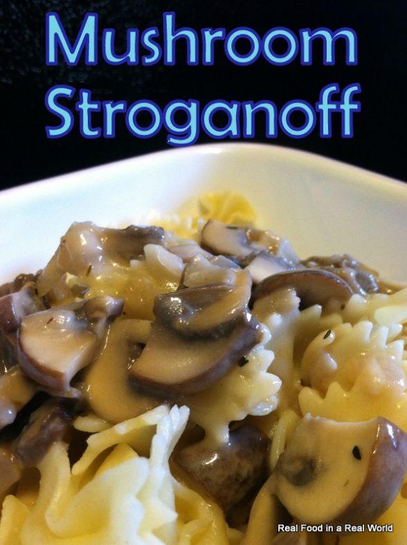 Mushroom Stroganoff | BAKING! | Pinterest