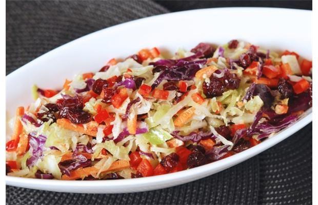 Cranberry Coleslaw | canada.com | Recipes | Pinterest
