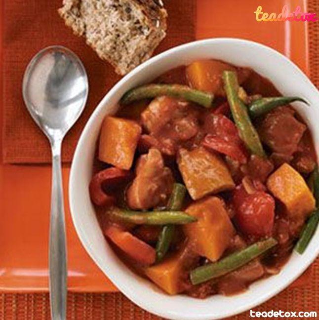 Chicken Pumpkin Stew..   Healthy Recipe   Pinterest