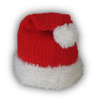 free knitting pattern! --- I love the Santa hat! Free patterns I like