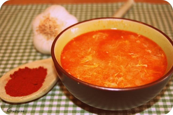 Sopa de Ajo ( Garlic Soup ) | GARUM: Entrantes / Starters | Pinterest