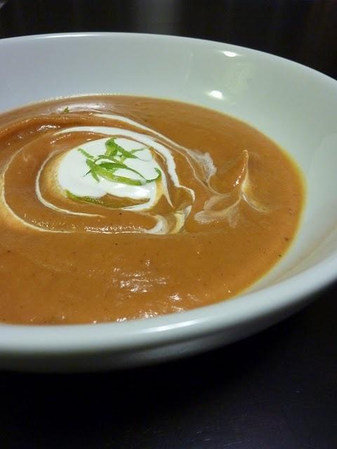 chipotle sweet potato soup | Soups and corn breads | Pinterest