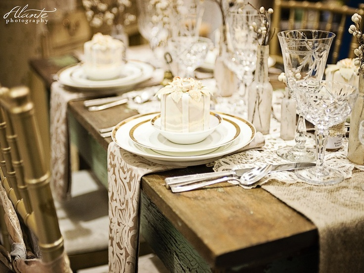 include runner cut Ambiance  table rentals teal Vintage seattle vintage crystal  rentals table,