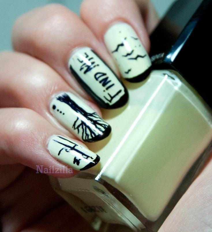 NailZilla: Sharpie Nail Art  Sharpie nail art  Pinterest