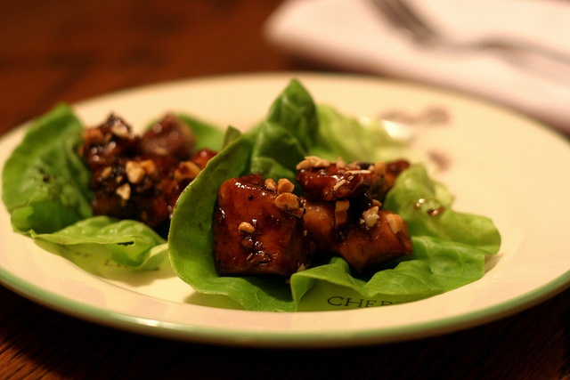 Cashew Chicken in lettuce cups - Very Tasty and easy to make