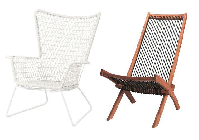 IKEA Outdoor Lounge Chairs The Sandlot