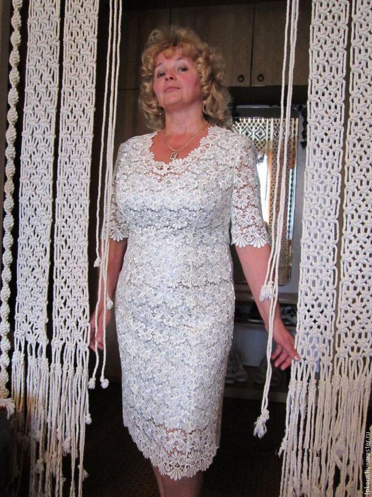 Как сшить кружевное платье с