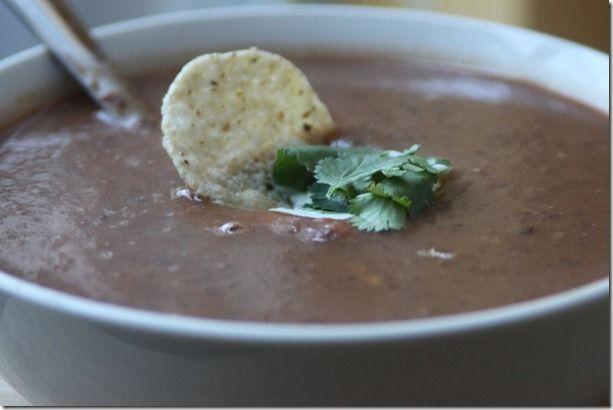 The best blackbean soup | Food | Pinterest