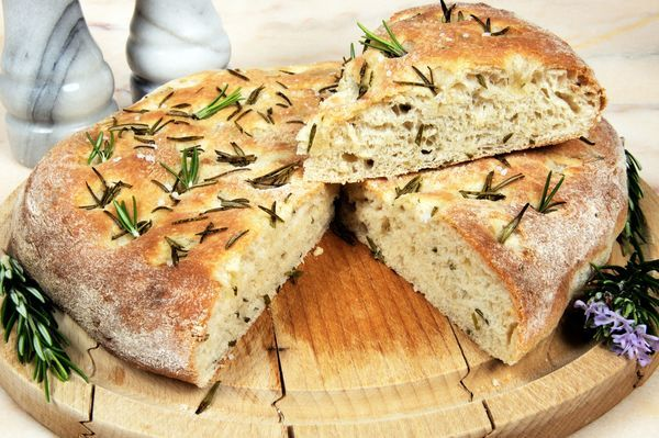 Bread Recipe: Rosemary Focaccia | Breads | Pinterest