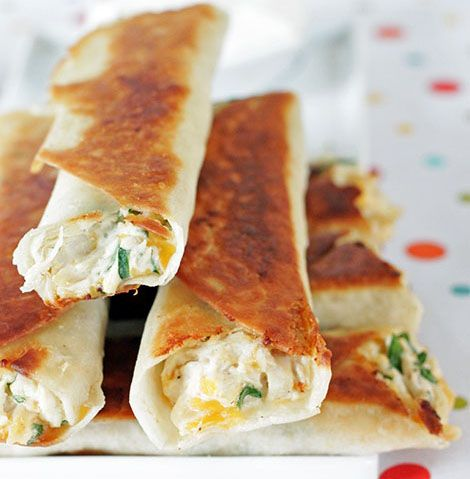 Chubby Chicken and Cream Cheese Taquitos. so much better than those ...