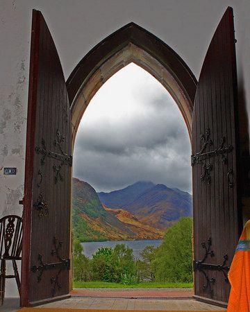St. Mary & St. Finnan Catholic Church in Argyll, Scotland   Photo by: Ken Conger