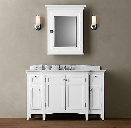 Single sink extra wide Bathroom Reno Pinterest