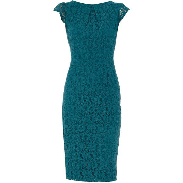 Turquoise lace dress my style pinterest