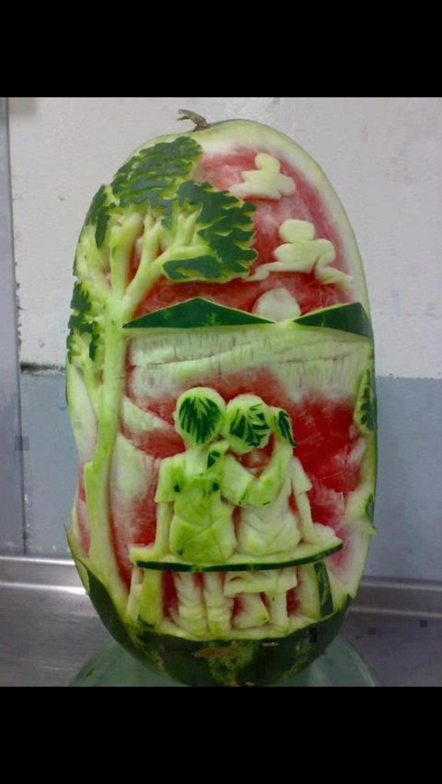 Fruit carving ideas pinterest