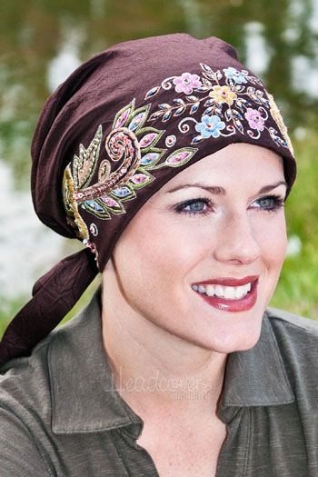 pretied scarves for with hair loss cover your hair