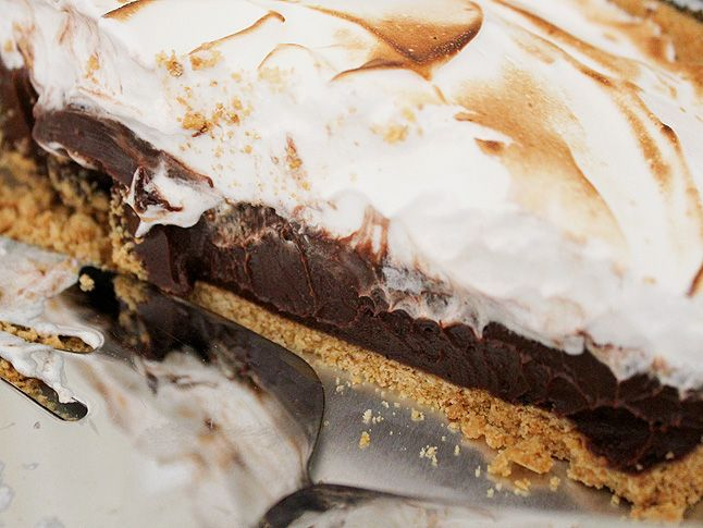 coffee s'mores pie - think i'm gonna go make this right now!