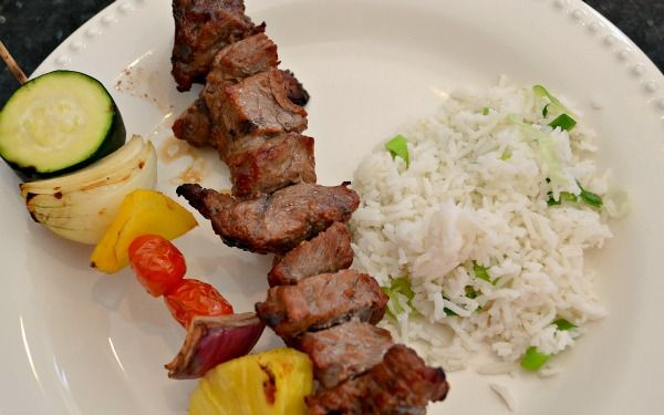 Asian Steak Kabobs | OAMC from Once A Month Mom - had these for dinner ...