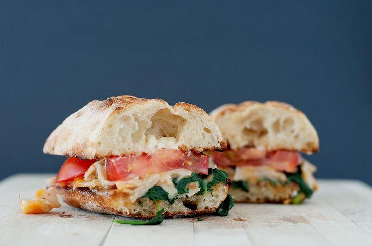 "Sautéed Spinach & Turkey Sandwich""... Sprinkle of Garlic Powder 1 ..."