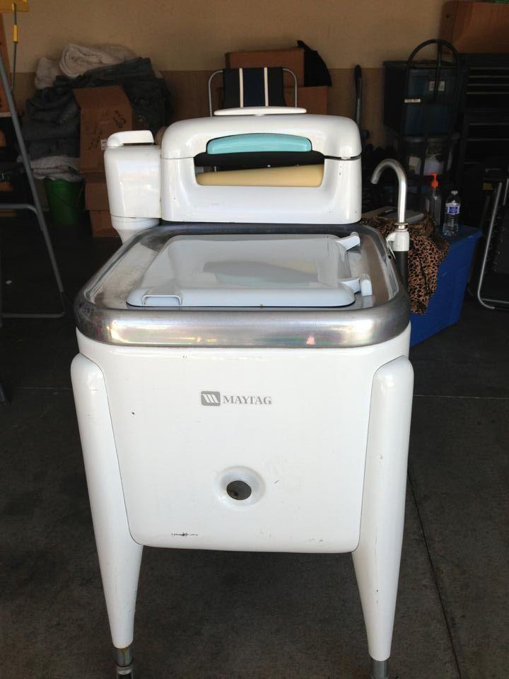 vintage washing machine antique stuff i love pinterest. Black Bedroom Furniture Sets. Home Design Ideas