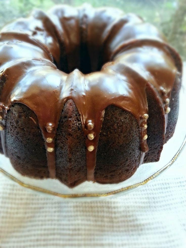 Gingerbread Bundt with Espresso Glaze {Gramercy Tavern}