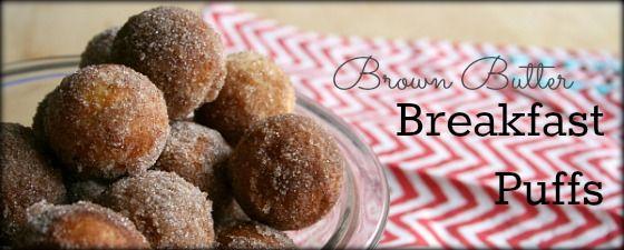 Brown Butter Breakfast Puffs @Jens Favorite Cookies