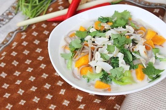 thai pork rice bowl thai noodle stir fry thai veggie soba noodle bowls ...