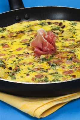 Open Faced Omelet | From My Kitchen - Recipes, Tips and Tricks | Pint ...