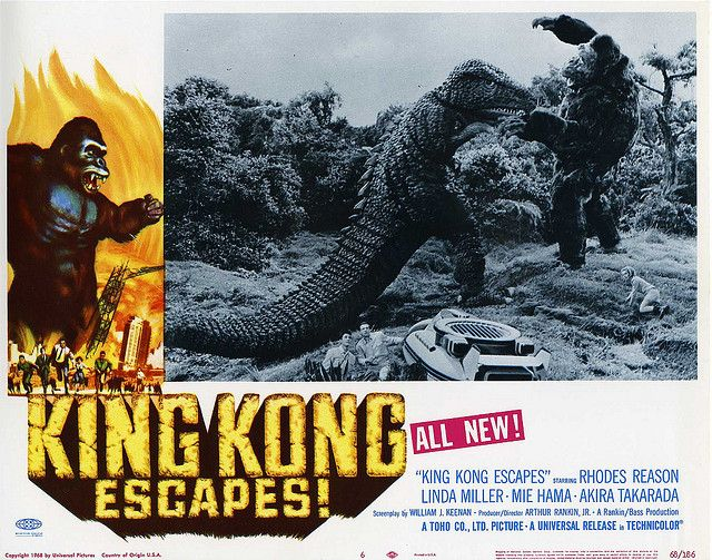 King Kong Escapes | Movie Art | Pinterest