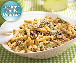 Pasta Carbonara. Turn the classic pasta dish into a low-fat recipe by ...