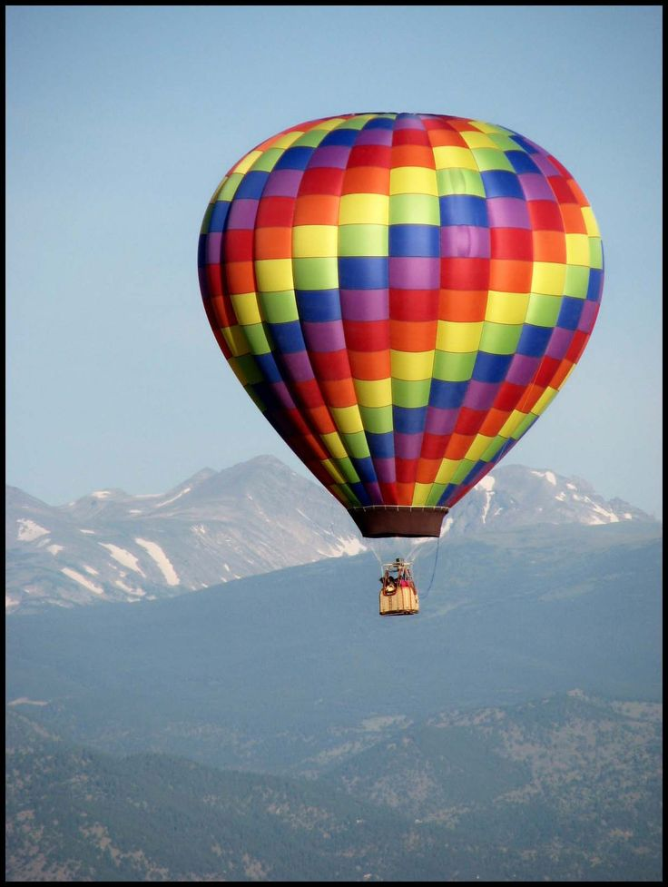 I don't want to jump out of a plane or off a bridge or ride a bull...I just want to float through the sky in a hot air balloon :)