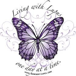 Lupus butterfly. Cafepress.com | Living with Lupus out ...