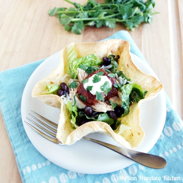 Baked Chicken Tostadas | Food-Poultry | Pinterest