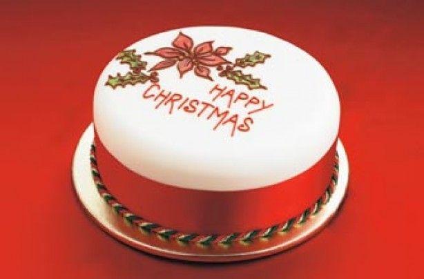 Christmas Cake Icing Ideas Uk : Easy Christmas cake recipes and designs - 40 Christmas ...