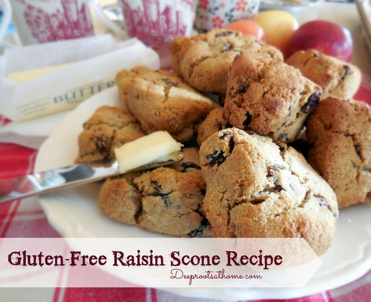 Gluten-Free Raisin Scone Recipe | Deep Roots at Home