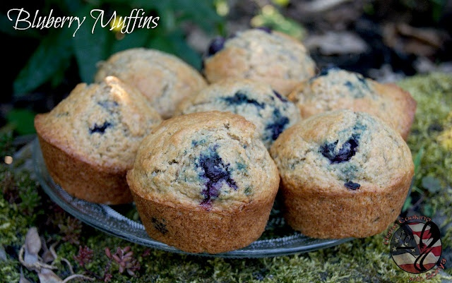 Blueberry Whole Wheat Muffins | Food | Pinterest