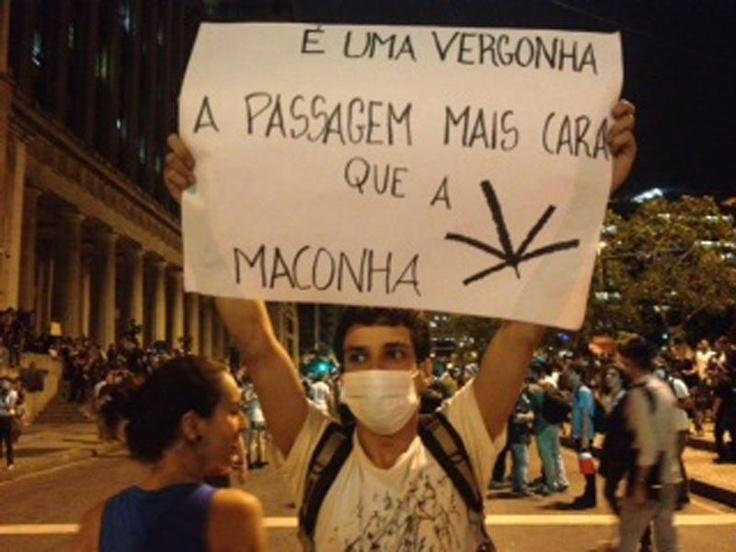G1 RJ - Protestos