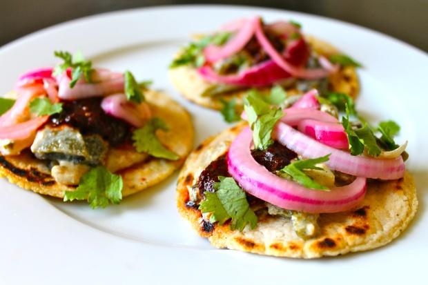 Rajas Poblanas Tacos | Recipes | Pinterest