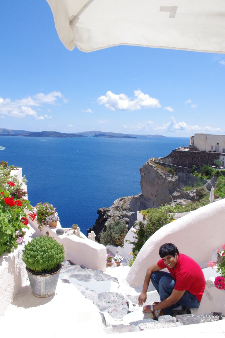 Ioa Santorini Aris Caves Hotel Travel The World Pinterest