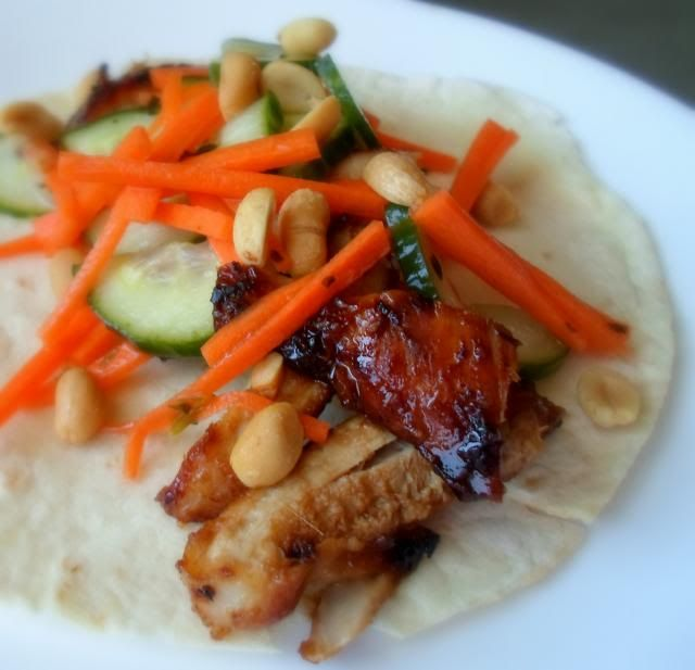 Thai Chicken Tacos | Food and Recipe Inspiration | Pinterest