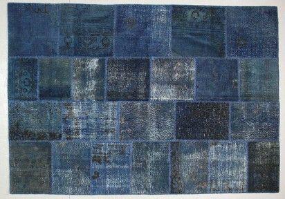 Tapis patchwork vintage