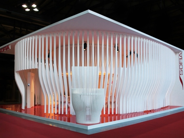 Blowing in the Wind Pavilion  by Riccardo Giovanetti for Sofia