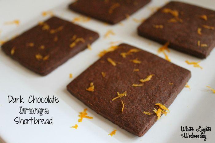 Dark Chocolate Orange Shortbread 3