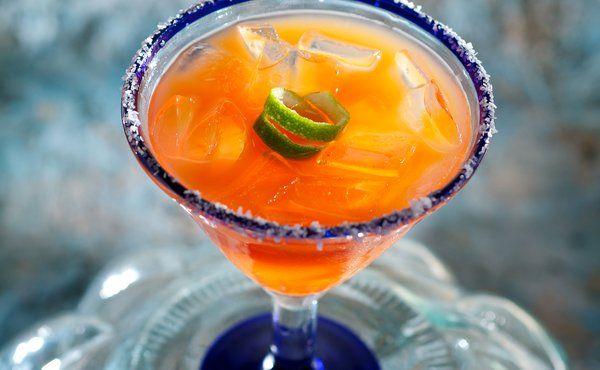 Blood Orange Margaritas | Melted sunshine on ice | Pinterest