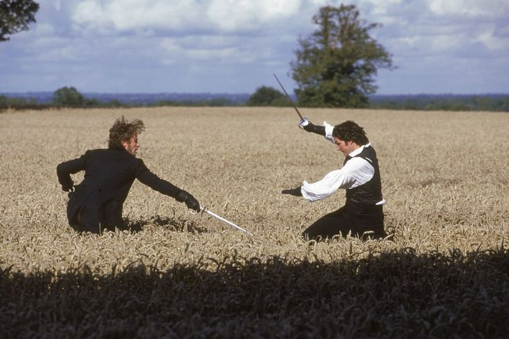 The duel scene from Count of Monte Cristo is by far the best dueling scene ever filmed.