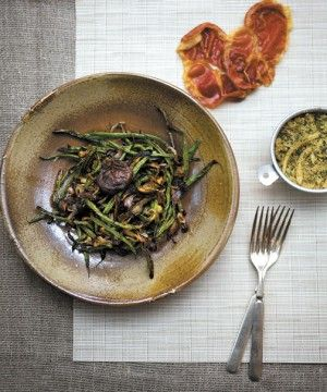 now famous among my in-laws for my deconstructed green bean casserole ...