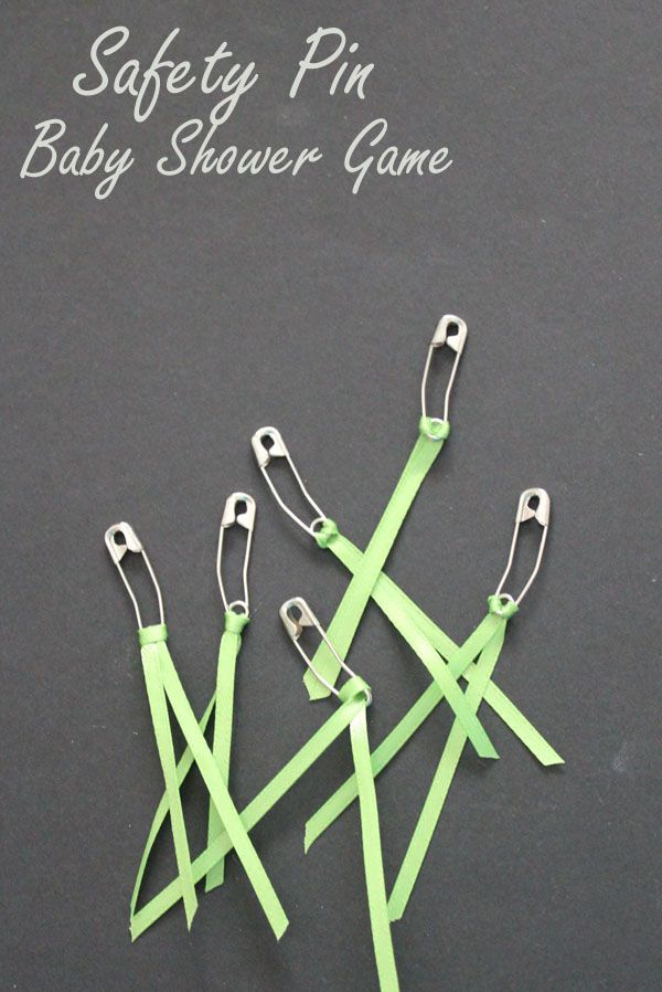 safety pin baby shower game baby showers pinterest