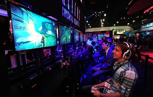 Is the American gamer population shrinking? ( FREDERIC J. BROWN / AFP - Getty Images)
